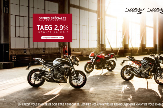 OFFRE EXCLUSIVE - GAMME STREET TRIPLE