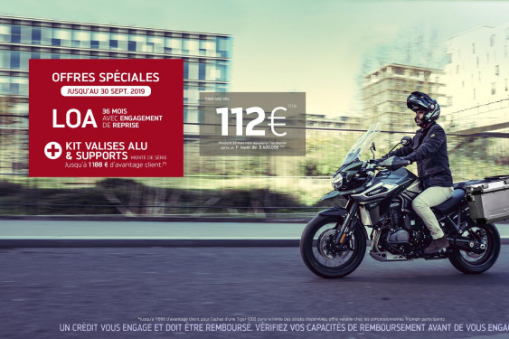 OFFRE BAGAGERIE - TIGER 1200