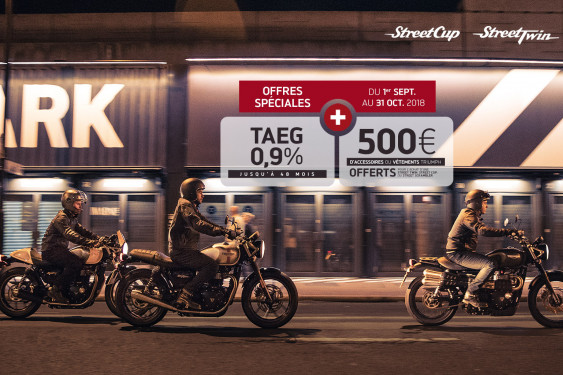 OFFRE EXCLUSIVE - STREET 900