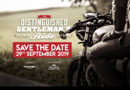 The Distinguished Gentleman's Ride 2019